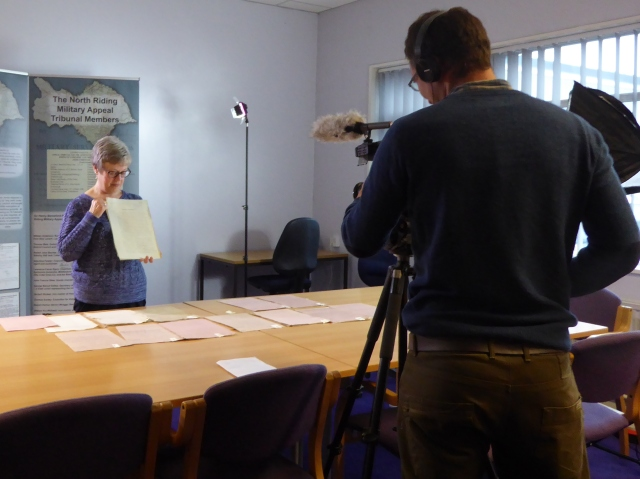 GfA filming Clem Hall project